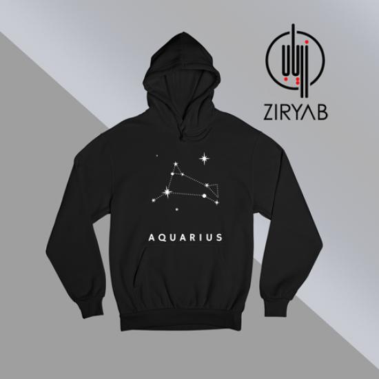 Aquarius Tshirt Hoodie Sweatshirt
