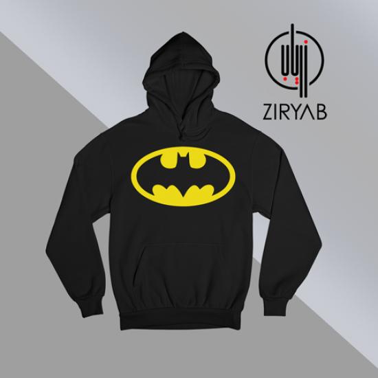 باتمان شعار  تيشيرت هودي سويت شيرت