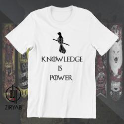 Knowledge is power T-shirt Hoodie Sweatshirt